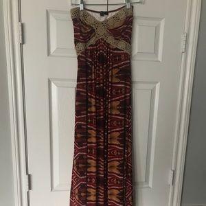 Sky Maxi dress worn 1x